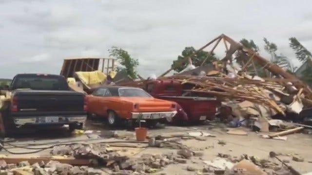 WEB EXTRA: Inola Storm Damage