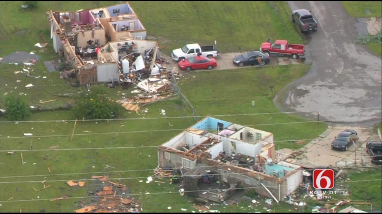 Osage SkyNews 6 HD: Storm Damage In Wagoner County