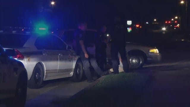 WEB EXTRA: Video From Scene Of Where Tulsa Police Arrest Driver