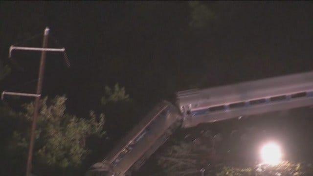 WEB EXTRA: CBS Video From Scene Of Amtrak Crash In Philadelphia