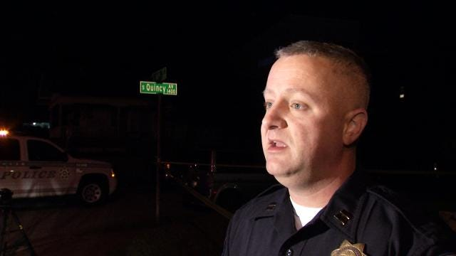 WEB EXTRA: Tulsa Police Thomas Bell Talks About Shooting
