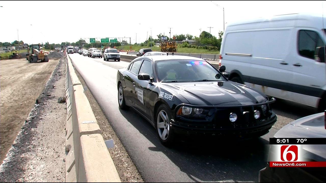 Speeding, Daily Wrecks Trouble I-244 Construction Zone In Tulsa