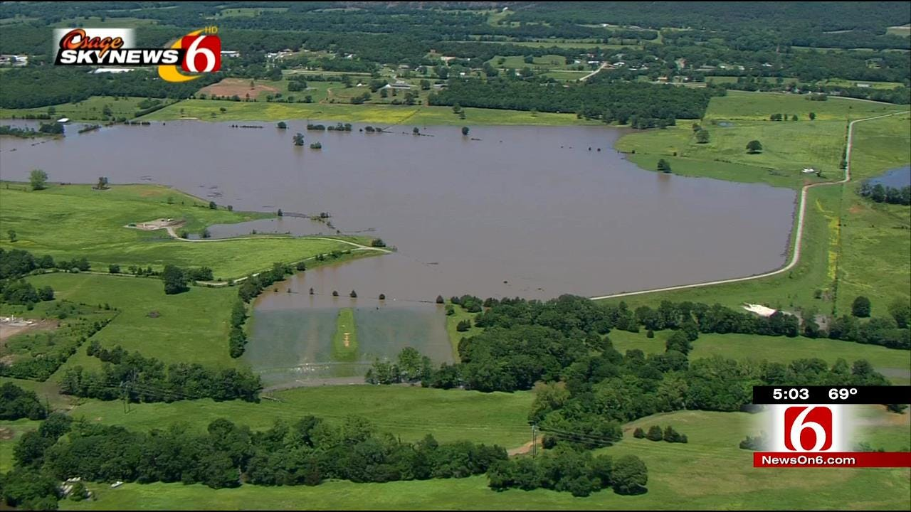 Residents Deal With Extensive Flooding In Pittsburg County