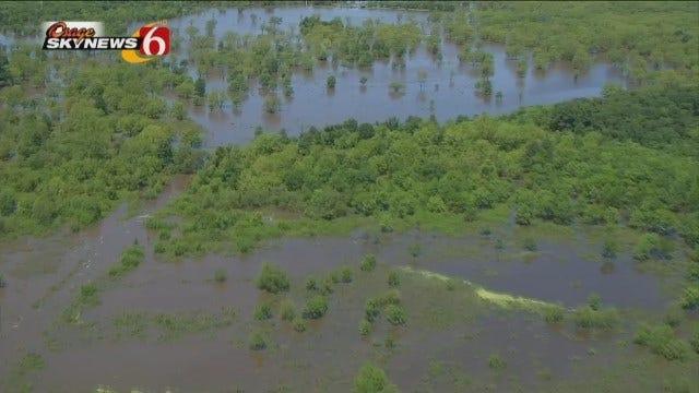 Osage SkyNews 6 HD Flies Over Lake Eufaula