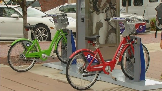 Bike Share System Coming To Tulsa