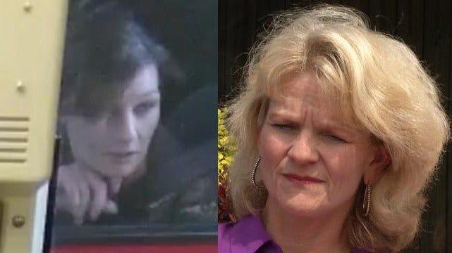 Burglar Posing As Victim, Caught On Tulsa Bank's Cameras