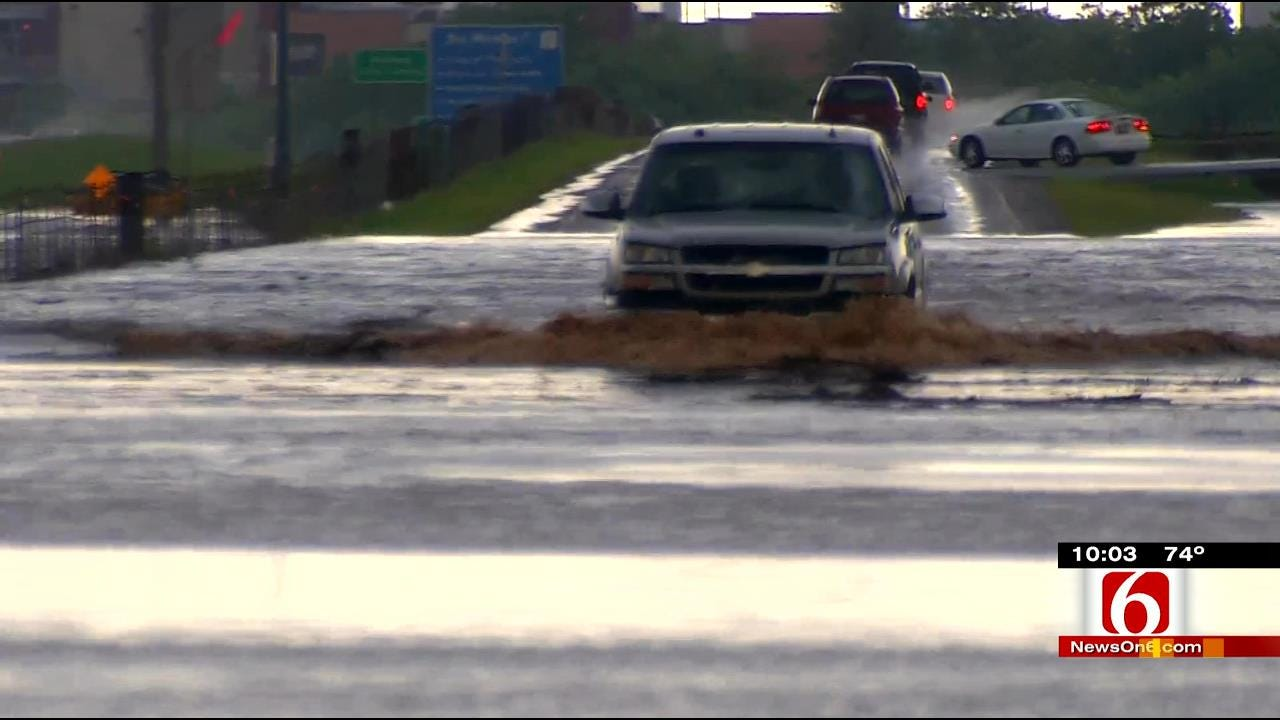 Flash Flood Emergency Issued For OKC Metro