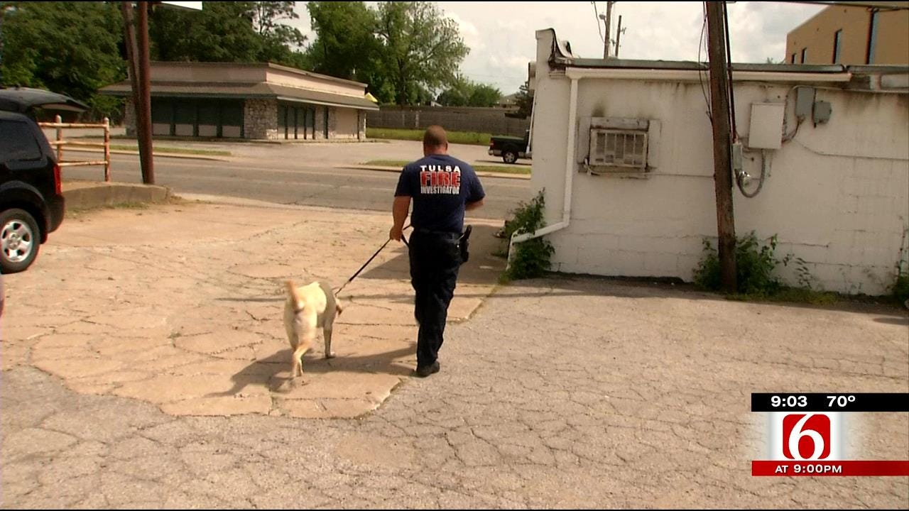 Sniffing Out An Arsonist Is Tulsa Fire Investigator's Only Job