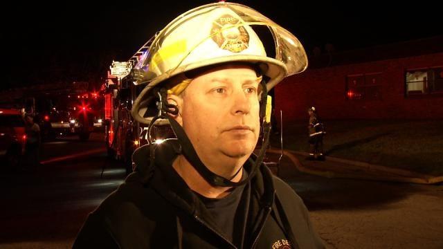 WEB EXTRA: Tulsa Fire District Chief Glenn Brigan Talks About Fire