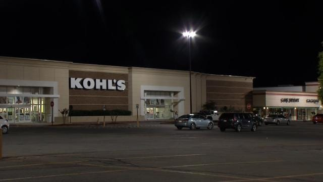 WEB EXTRA: Video Outside South Tulsa Kohl's Store