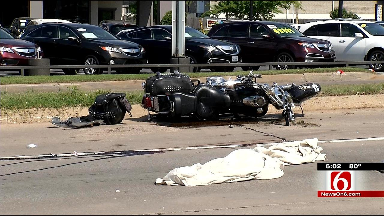 Tulsa Motorcyclist Killed By Hit-And-Run Driver