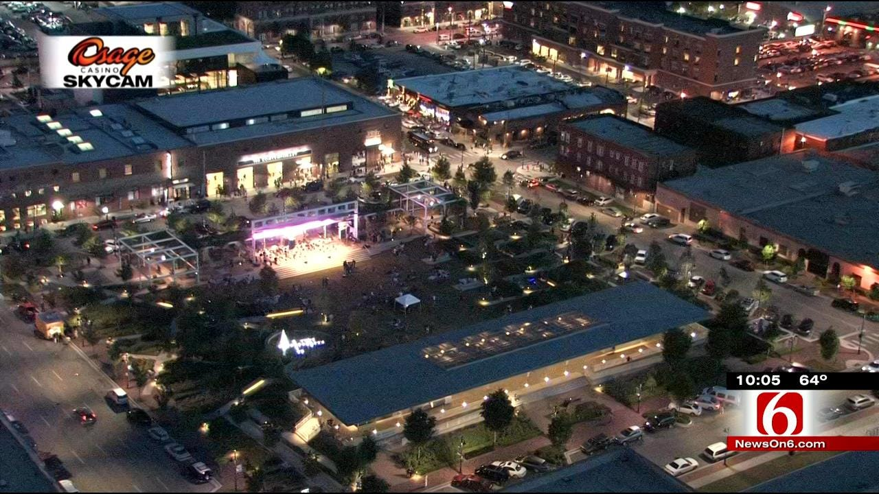 Violent Crimes Not Common Downtown, Tulsa Police Say