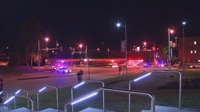WEB EXTRA: Video From Scene Of Downtown Tulsa Fatal Shooting