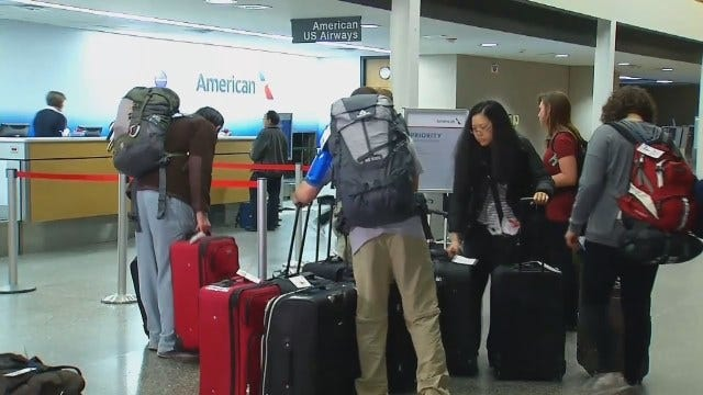 WEB EXTRA: Video Of Tulsa Medical Team Leaving For Nepal