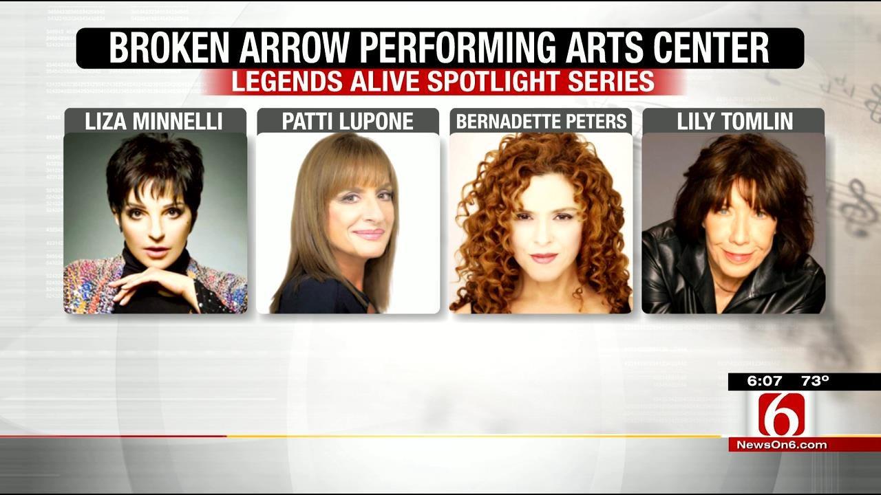 Broken Arrow PAC To Welcome Stars Like Liza Minnelli, Lily Tomlin