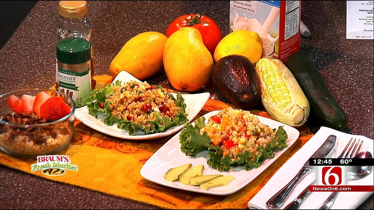 Mango Quinoa Salad & Quinoa Cereal