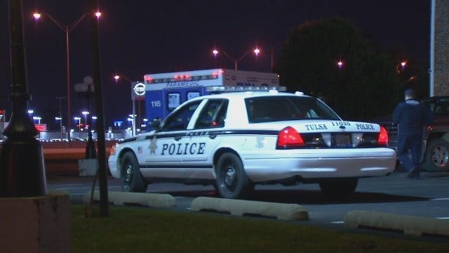 WEB EXTRA: Video From Scene Outside Tulsa's Georgetown Plaza Motel
