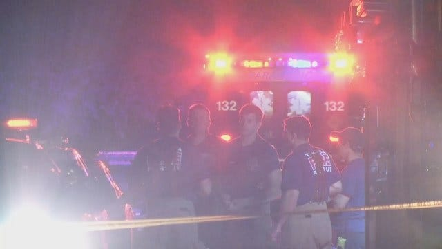 WEB EXTRA: Two Wounded In North Tulsa Shooting