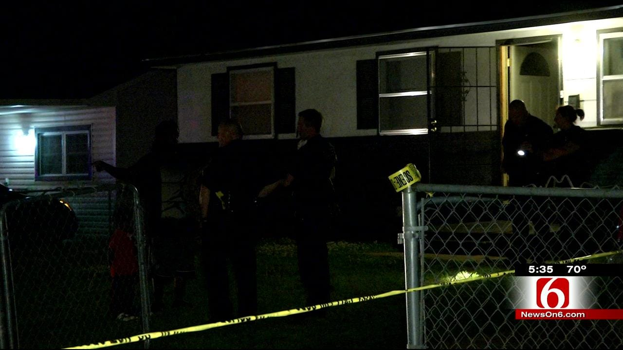 Woman Found Shot Outside Tulsa Home, Man Found Wounded Indoors