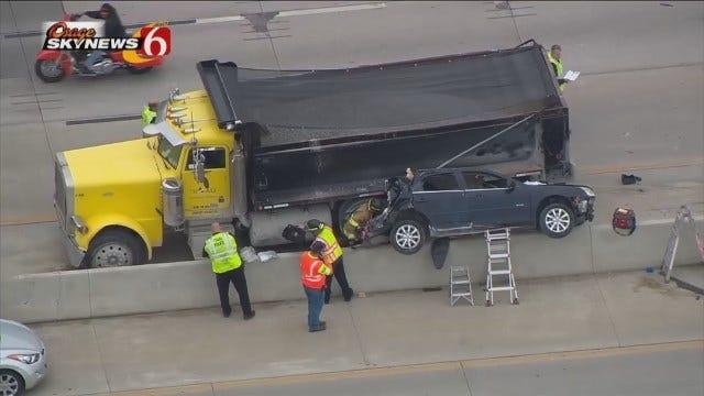Osage SkyNews 6 HD Flies Over Highway 169 Crash