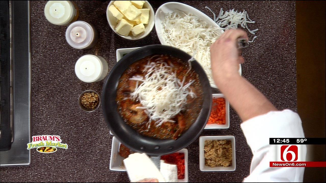 Asian Pad Tai Shrimp With Ponzu Sauce