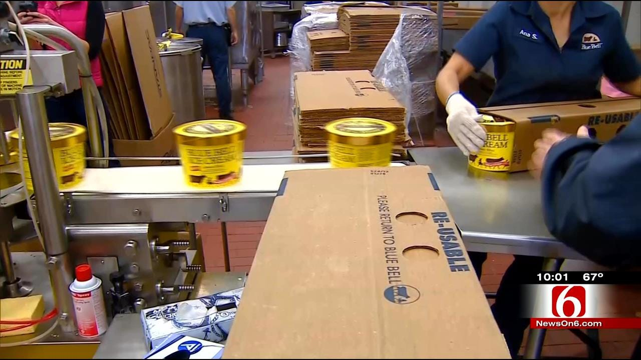 BA Blue Bell Plant Remains Closed Until Products Are Safe