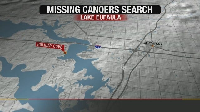 Canoe Found As Search Continues For Missing Men On Lake Eufaula