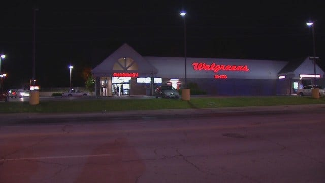WEB EXTRA: Video From Scene Of Walgreens Robbery