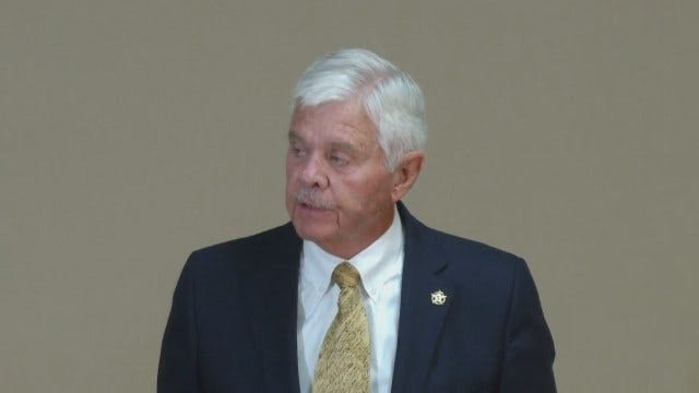 WEB EXTRA: Tulsa County Sheriff Stanley Glanz Opening Statement At News Conference