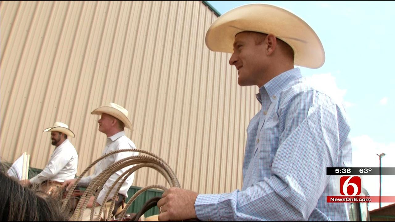 Cord McCoy Hosts Cowboys For Western Days In Locust Grove