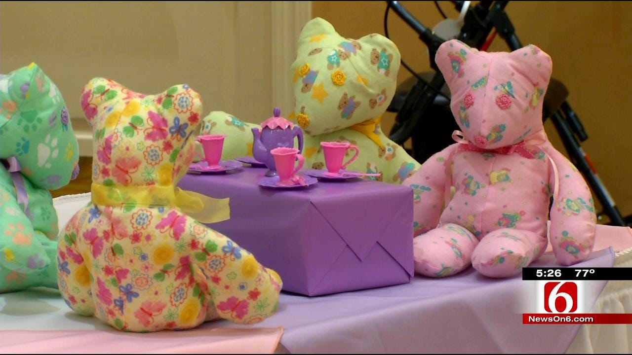 Teddy Bears Donated To EMSA By Tulsa Retirement Community