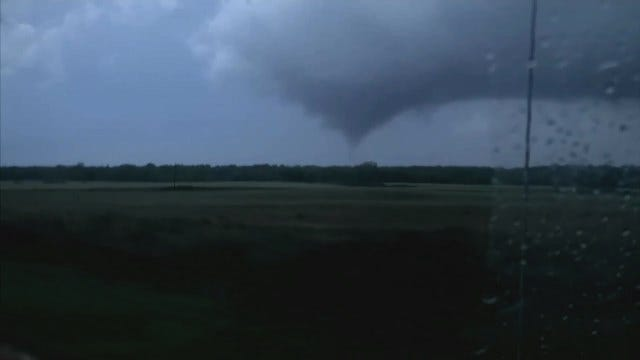 WEB EXTRA: Tornado Touches Down In Beckham County