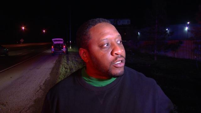 WEB EXTRA: Good Samaritan Talks About Finding Car Crash