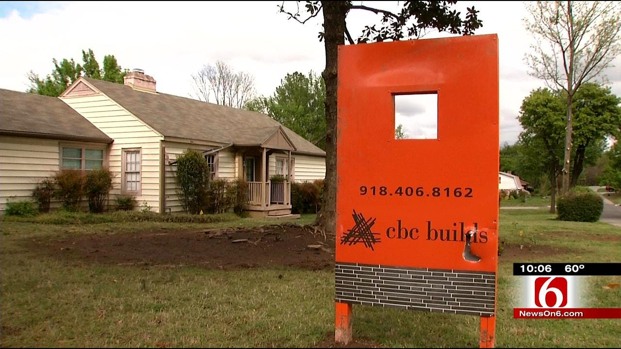 Midtown Neighbors Protest Plan To Build Four Houses On Two Lots