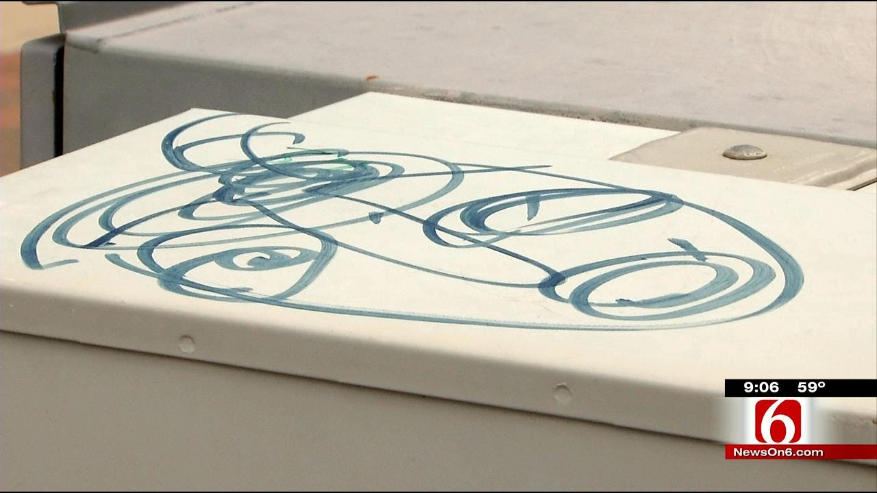 Vandal Defaces Downtown Tulsa Properties; Posts To Instagram
