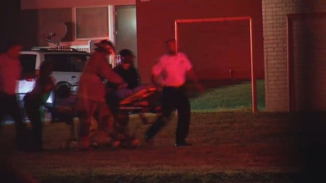 WEB EXTRA: Tulsa Firefighters Rescue Child From Burning Apartment