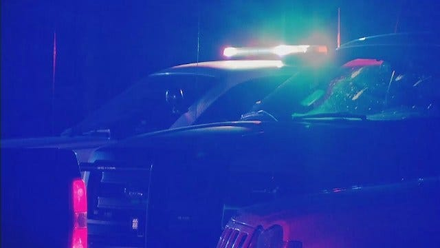 WEB EXTRA: Video From Scene Of Creek County Deputy-Involved Shooting