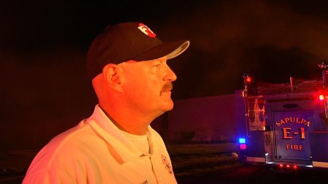 WEB EXTRA: Sapulpa Assistant Fire Chief Steve Fleak Talks About Fires