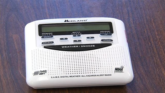Tulsa Company Donates Weather Radios To Every Public School