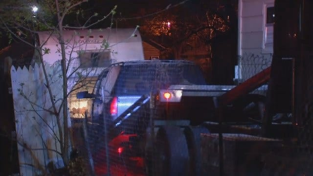 WEB EXTRA: Video From Scene Of West Tulsa Crash