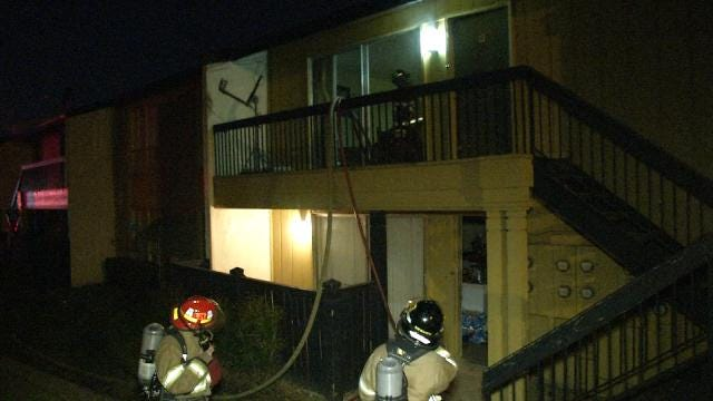 Westminster Residents Displaced In Tulsa Apartment Complex Fire