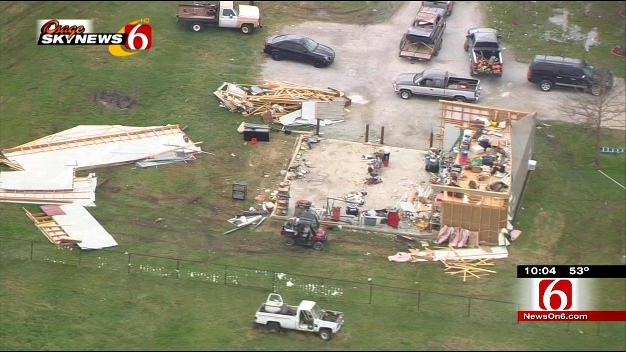Scam Artists Target Tulsa-Area Storm Victims