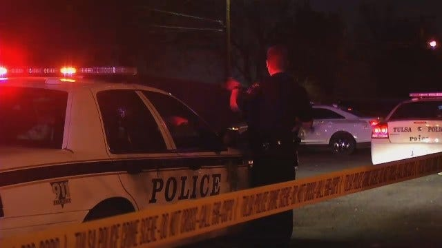 WEB EXTRA: Video From Scene Of Tulsa Police Officer-Involved Shooting