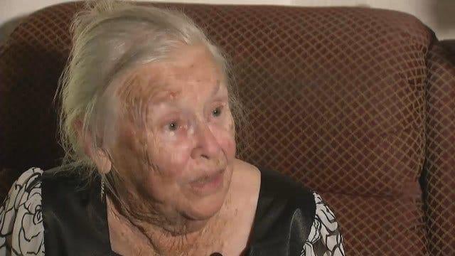 92-Year-Old Blind Woman Wards Off West Tulsa Burglars