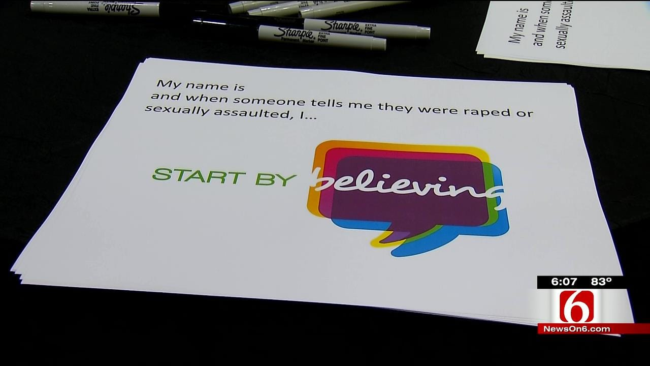 'Start By Believing' Campaign Supports Oklahoma Sexual Assault Victims