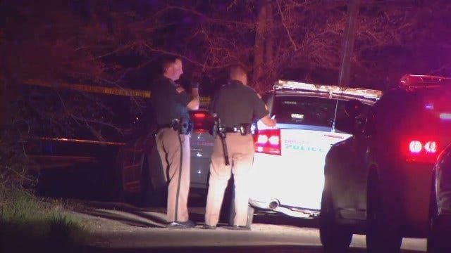 WEB EXTRA: Video From Scene Of Sapulpa Shooting