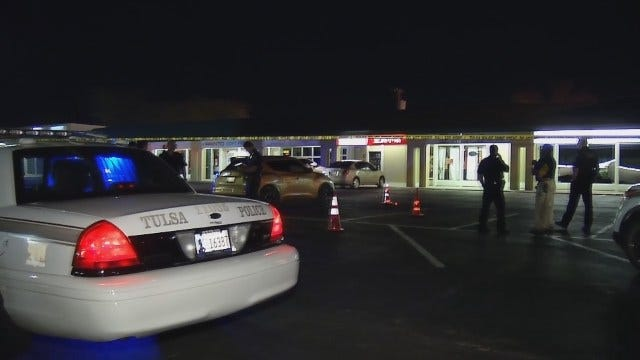 WEB EXTRA: Video From Scene Of East Tulsa Double Shooting