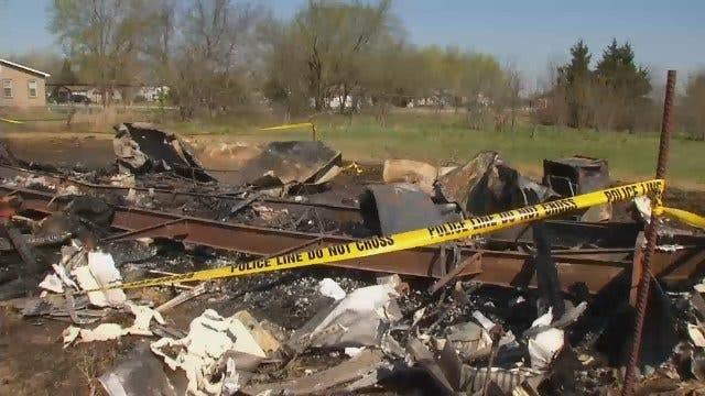 WEB EXTRA: Video From Scene Of Fatal Ochelata Fire