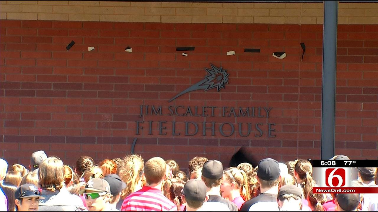 Tulsa Bishop Kelley High School Breaks Ground On New Field House