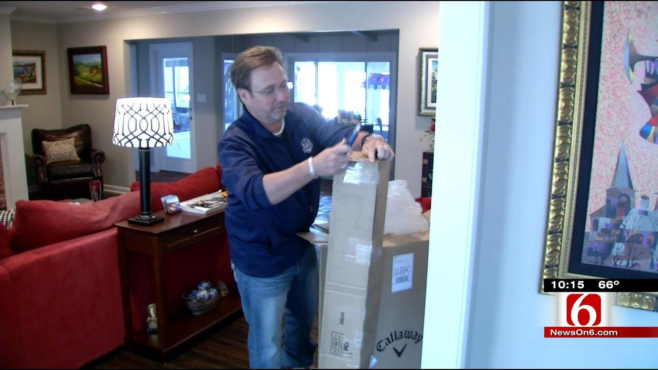 Tulsa Theft Victim Gets Replacement Golf Clubs Thanks To Callaway